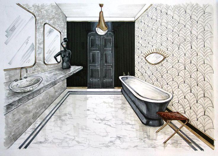 19 interior renderinginterior sketchsketch