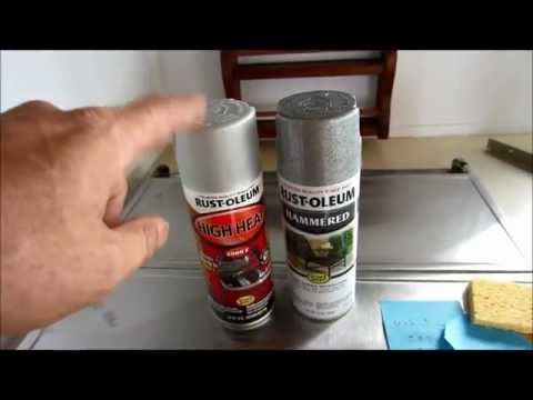 How to Paint your Motor home Stove Range or Vent Hood.  Rather than buy a new one, I decided to use some spray paint   to give the range hood a newer look.  Trying to save money on this slight remodel is pretty high on our list.  I was glad to see how well the range hood turned out.    Comments, suggestions, questions, or advice is welcomed.  Just leav...