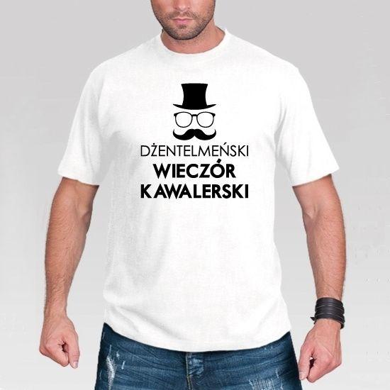 Śmieszna koszulka na wieczór kawalerski.