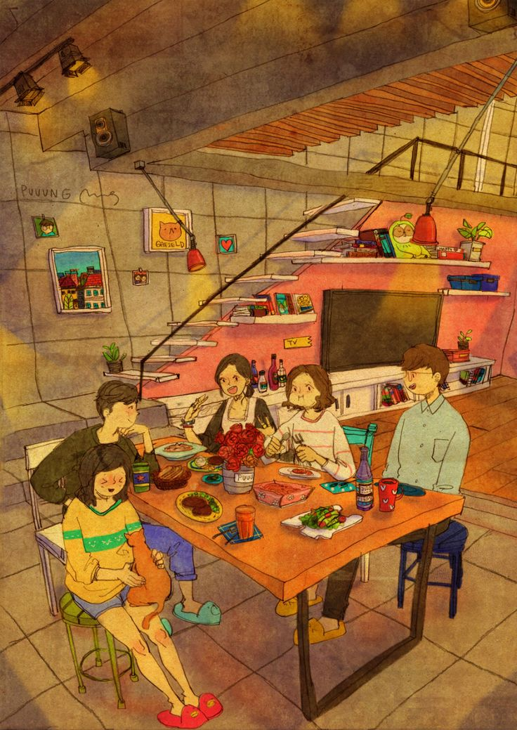 Friends have come over | Puuung