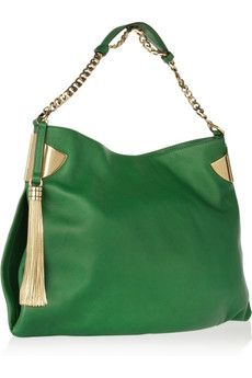Vintage Gucci. -I don't care for green, but this is just stunning-