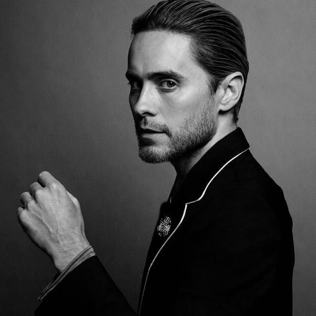 Black And White Portraits Of Celebrities JARET LETO
