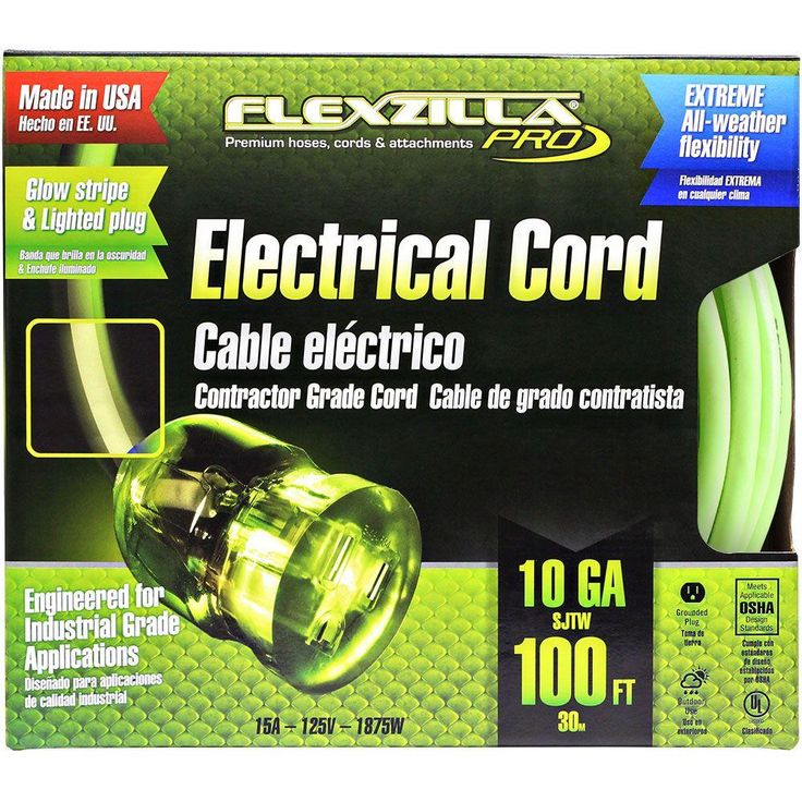 100 ft. 10/3 Extension Cord