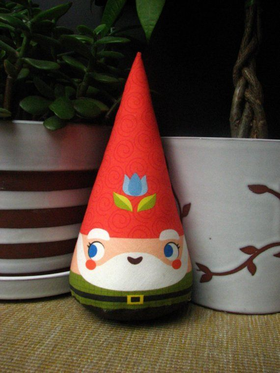 plush #cute #kawaii #awww #gnome #plush #plushie