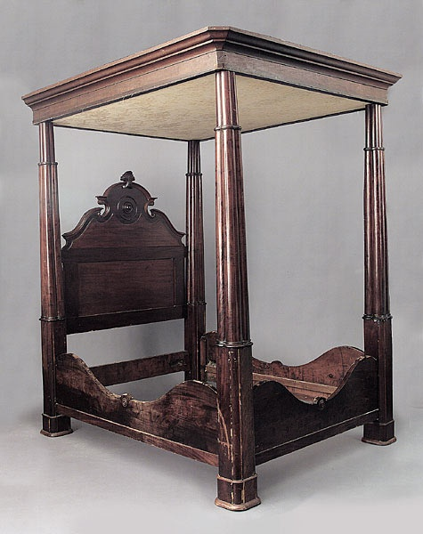 A Louisiana Mahogany Full Tester Bed Mid 19th C The