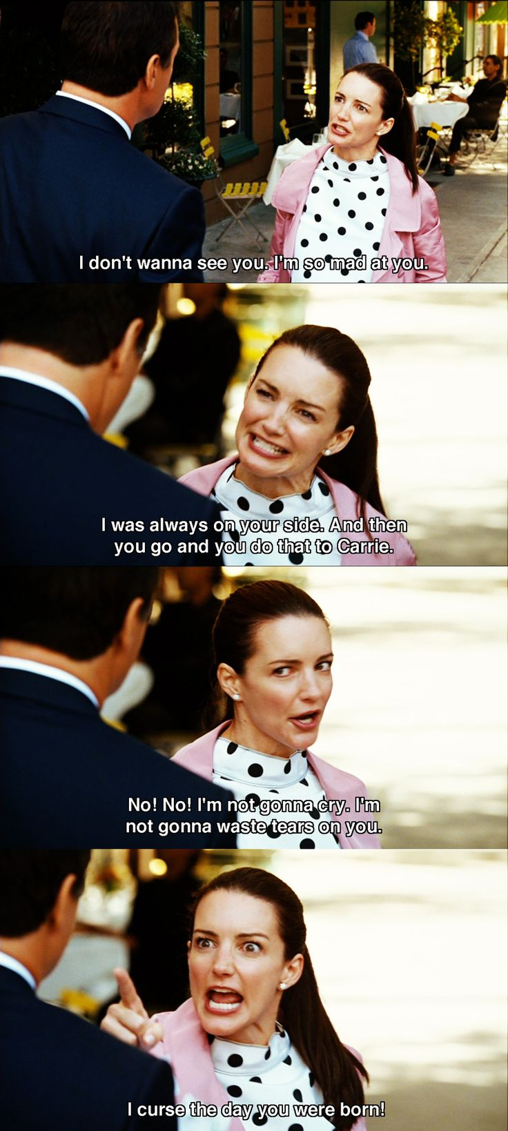 """""""I curse the day you were born."""" - Charlotte to Big, Sex and the City // #SATC #SATCQuotes"""