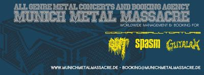 Long Live The Loud 666: MUNICH METAL MASSACRE WITH: GUT,SPASM,GUTULAX