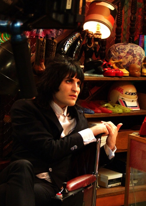 Noel Fielding has a chipper collection.