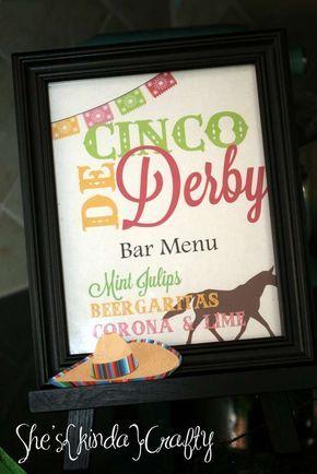 Kentucky Derby meets Cinco de Mayo Cinco de Mayo Party Ideas | Photo 9 of 13