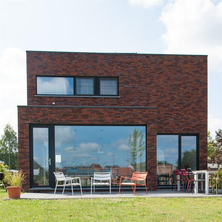 Raam met achterdeur huis bouwen pinterest met and van - Veranda modern huis ...