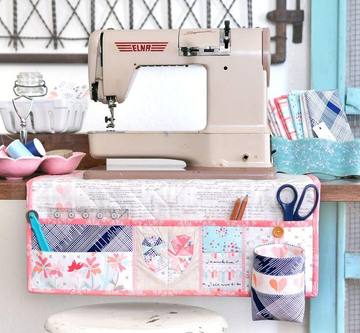 Undercover Maker Mat featuring Paperie Fabrics | lillyella stitchery
