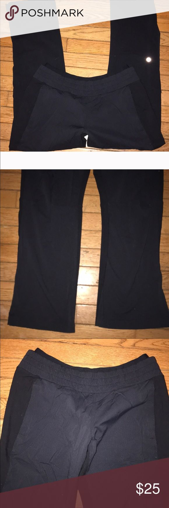 Lululemon Athletica track pants Lululemon Athletica track pants with fitted waistband size 8 excellent condition lululemon athletica Pants Track Pants & Joggers