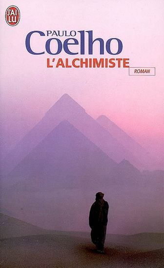 My friend gave this to me. Life changing. L'Alchimiste Paulo Coelho