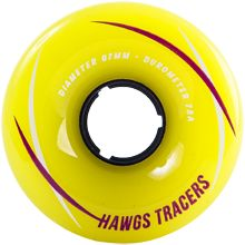 Hawgs Tracers longboard wheels  $42