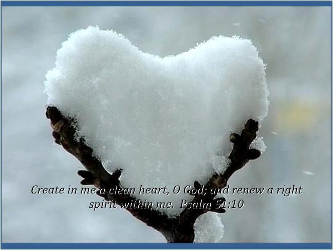 A Clean Heart