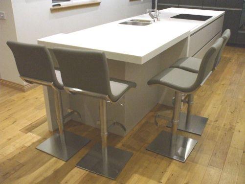 Steve Adjustable Bar Stool - Luxury Barstool | Breakfast Bar Stools