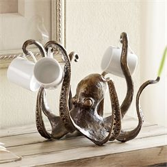 Octopus Tea Cup Holder / Jewelry Holder