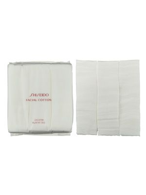 Shiseido Makeup Facial Cotton is smooth and luxuriously thick, and great for removing makeup and applying toner or even makeup