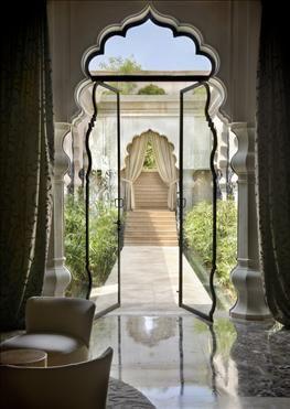 Palais Namaskar, Morocco  <3 the door frame design