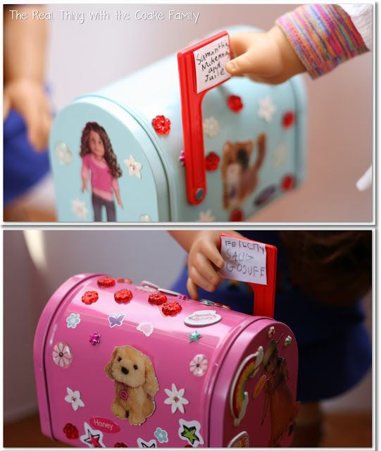 17 best images about 18 inch dolls holiday stuff on for Easy american girl doll crafts