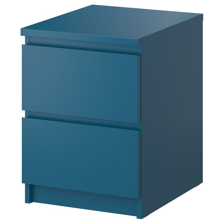 malm chest with 2 drawers gray 15 7 8x21 5 8 ikea gray or turquoise night stand idea. Black Bedroom Furniture Sets. Home Design Ideas