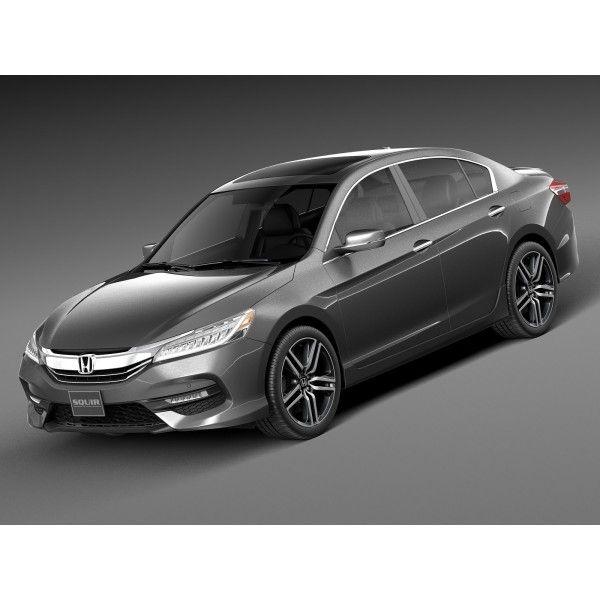 Honda Accord 2016 - 3D Model