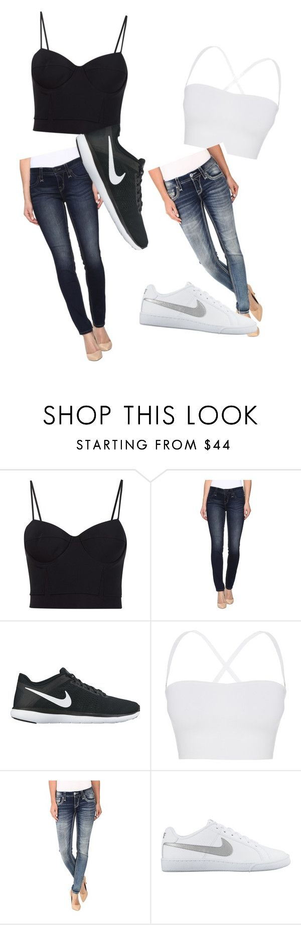 """""""Best Freinds"""" by ariya1 on Polyvore featuring Alexander Wang, Rock Revival, NIKE and Theory"""