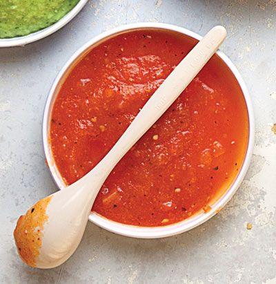 Tomato and Habanero Salsa