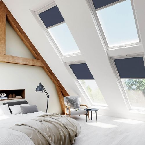 Fakro Blue Skylight Blinds For Fakro
