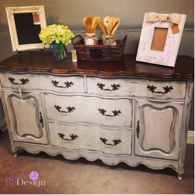 How To French Paint Furniture
