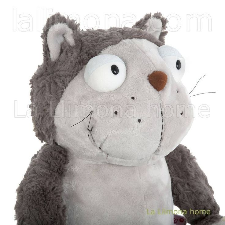 Nici peluches y complementos - Nici gato Lazy peluche 45