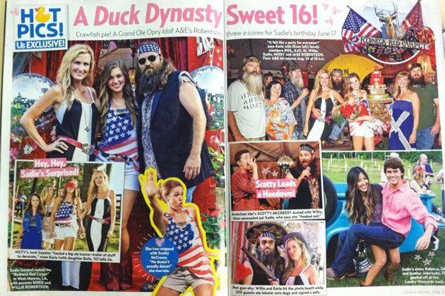 Duck Dynasty Sadie Robertson Bikini | ... Plays 'Duck Dynasty' Star Sadie Robertson's Sweet 16 Party