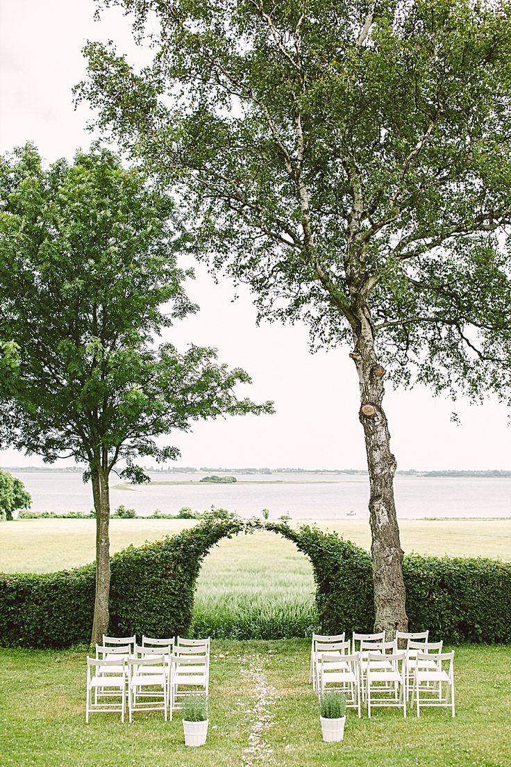 by camilla jorvad photography. romantic garden wedding. wedding ceremony arch and decor. intimate weddings and elopements in denmark, by Danish Island Weddings. www.getmarriedindenmark.com http://www.camillajorvad.com/