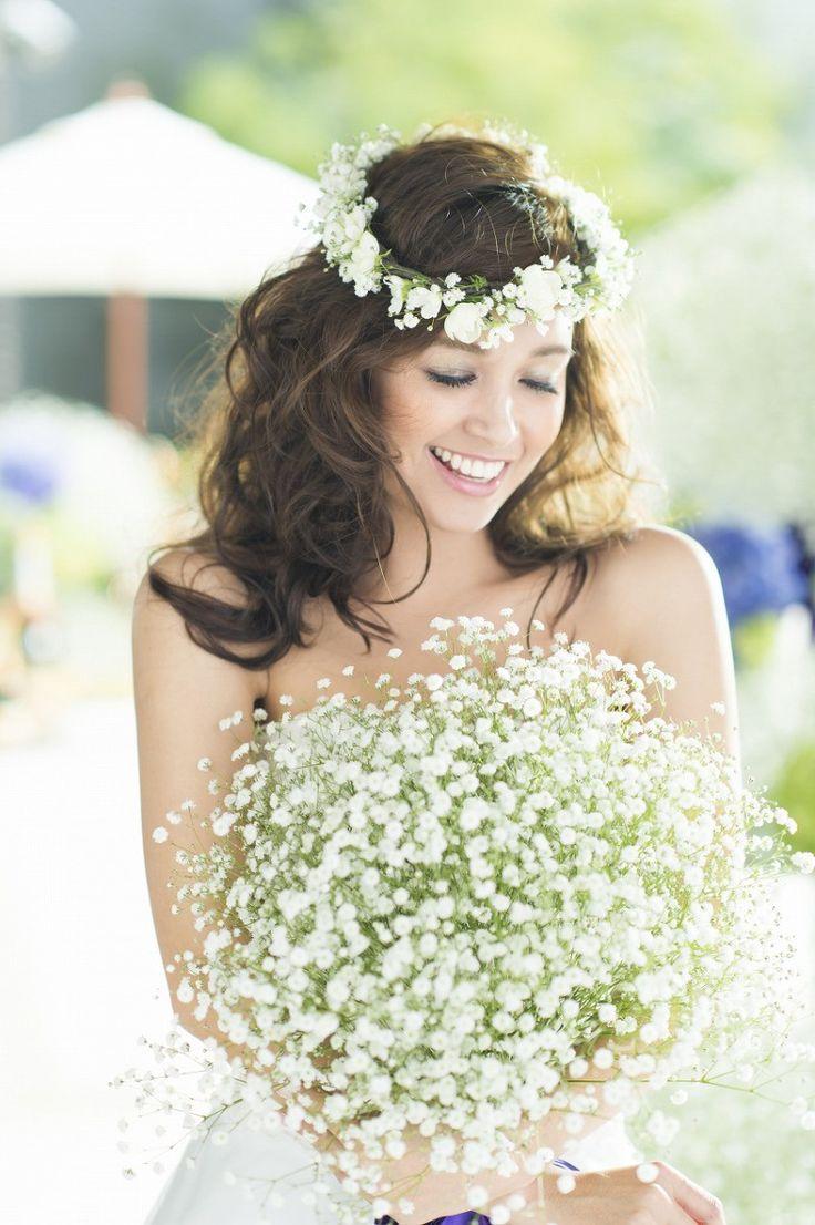 かすみ草 の画像|Erica's wedding diary