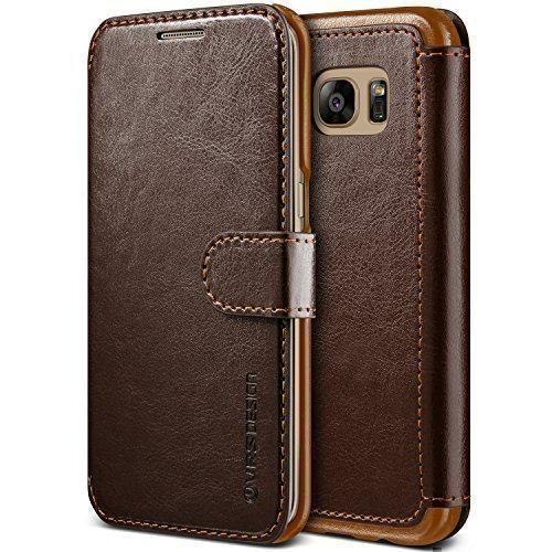Oferta: 19.99€ Dto: -43%. Comprar Ofertas de Funda Galaxy S7 Edge, VRS Design [Layered Dandy][Marrón Oscuro] - [Card Slot Case][Flip Cover][Slim Fit][PU Leather][Wallet] barato. ¡Mira las ofertas!