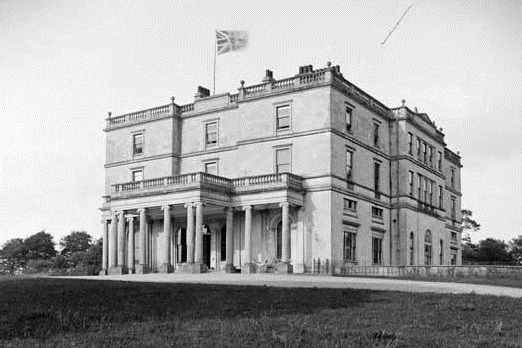 ROCKINGHAM HOUSE, near Boyle, County Roscommon, was a large, Classical mansion situated in a wonderful location on the shores of Lough Key.