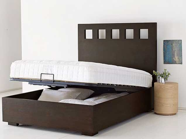 17 best ideas about lift storage bed on pinterest bed - Lift up under bed storage ...