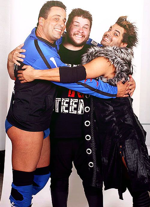 Steve Corino, Kevin Steen, and Jimmy Jacobs   SCUM