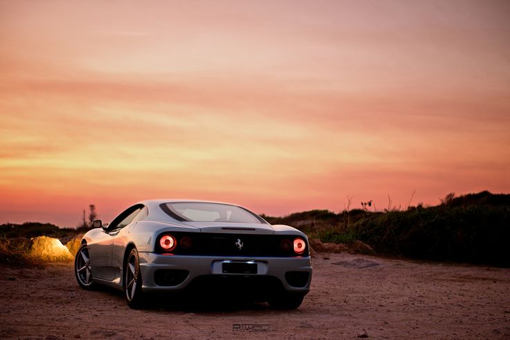 Car pornography — Starring: Ferrari 360 Modena by Anton