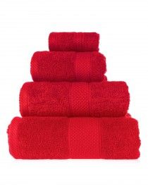 100% Cotton Red Towels