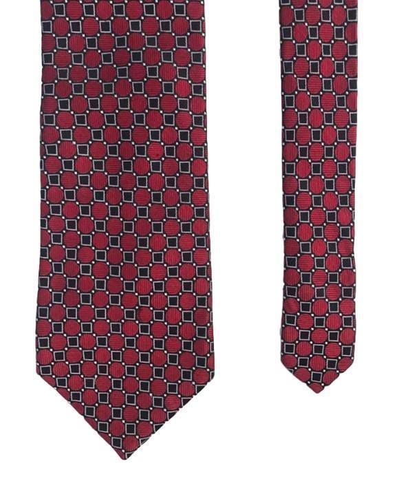 Orivieto Red Original Italian Design Classy Sharp Fancy 100% Silk Men's Neck Tie #Orivieto #Tie #mensties #menswear #mensaccessories #fashionties #businesscasual