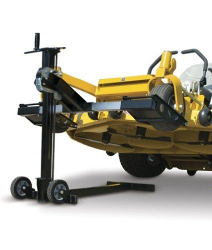 6b4dece5304 MoJack XT Residential Riding Lawn Mower Lift 500lb Lifting Capacity Fits  Most Residential and ZTR Mowers