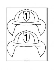 Firefighter crafts- Fire Safety Week ideas