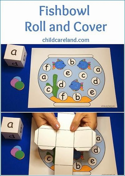 lowercase letters  letter recognition  fishbowl roll and