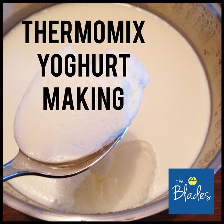 Thermomix Yoghurt Making