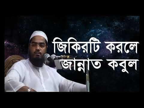 জিকিরটি করলে জান্নাত কবুল। হাফিজুর রহমান সিদ্দিকী ওয়াজ। Hafizur Rahman S...