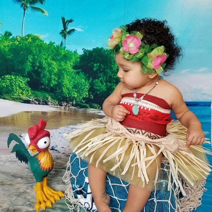 Moana traje Moana traje Moana Disney bebé Moana vestir
