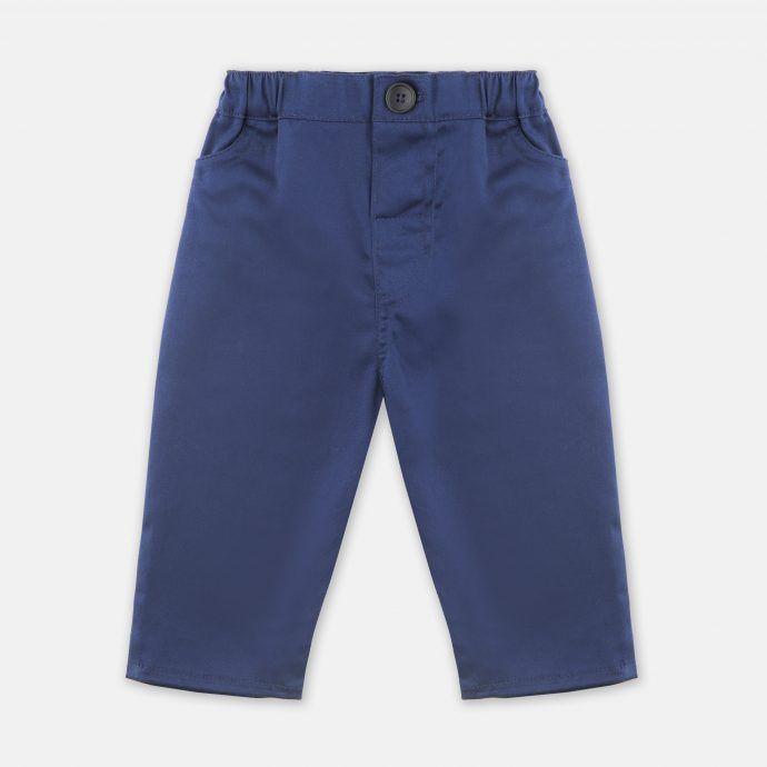 Spodnie casual granatowe