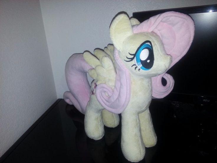 Handmade Original My Little Pony Fluttershy Plush by EquestriaPlush