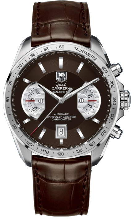 Tag Heuer Grand Carrera. Understated and timeless.